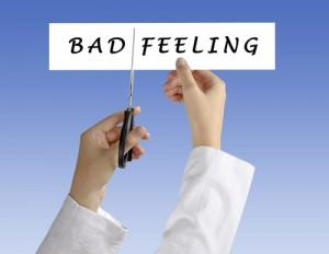 Aus dem schlechten Gefühl herauskommen